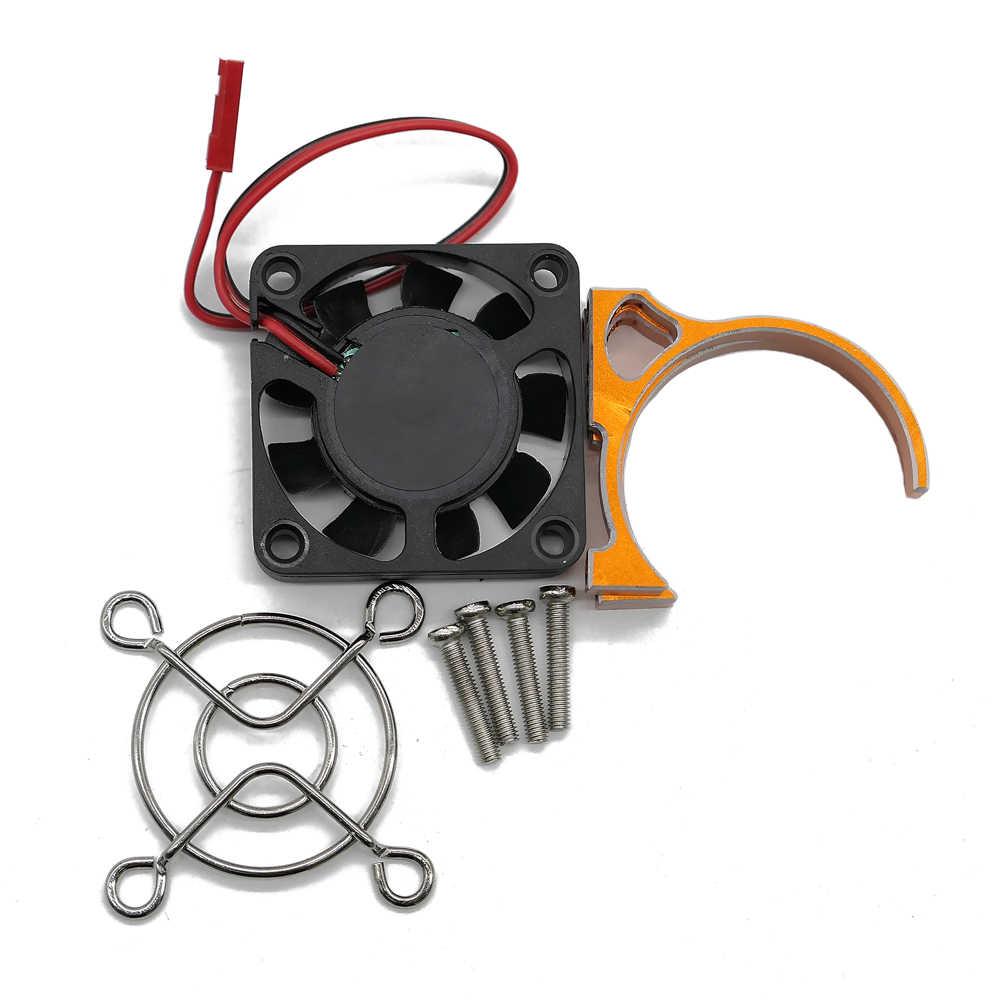 40*40 мм вентилятор охлаждения 5 В для 540 550 мотор для 1/10 1/8 rc хобби модель автомобиля HSP Arrma Traxxas Axial ECX hopup обновленная часть