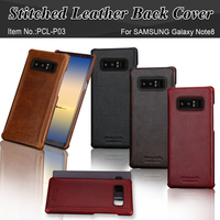 Pierre Cardin Brand New Vintage Genuine Leather Phone Case For Samsung Galaxy Note 8 Slim Hard