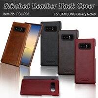 Pierre Cardin Brand New Vintage Genuine Leather Phone Case For Samsung Galaxy Note 8 Slim Hard