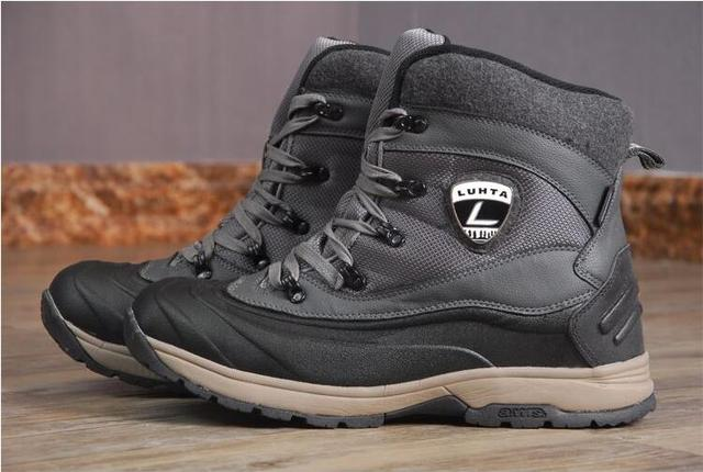 d18b374c7 US $39.76 15% OFF|Men winter hiking boots male walking Boots mens  waterproof snow boots Autumn Winter hiking shoes men winter sneakers for  45C-in ...