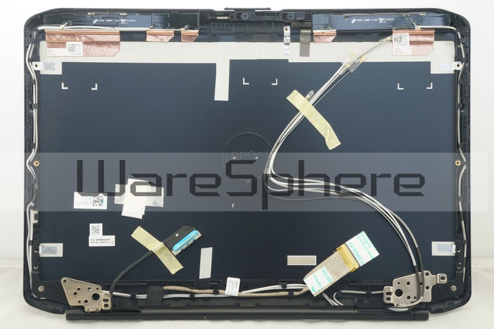 New LCD Back <font><b>Cover</b></font> With LVDS Cable YXXXK HD+ 1600x900 Hinges and Antenna wires For <font><b>Dell</b></font> <font><b>Latitude</b></font> <font><b>E5430</b></font> 0DNX33 DNX33 AM0M3000400 image