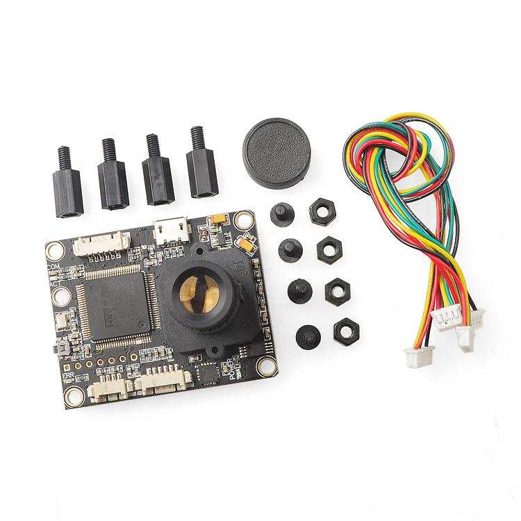 PX4FLOW V1.3.1 Optical Flow Sensor Smart Camera with MB1043 Ultrasonic Module Sonar for PX4 PIX Flight Control System цена