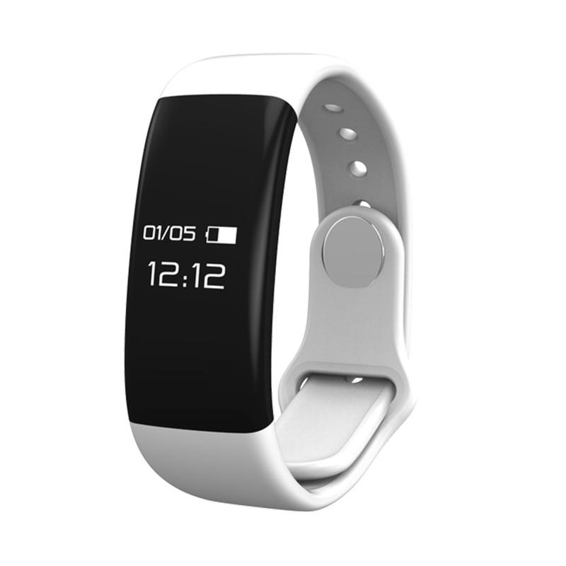 Monitor de ritmo cardíaco Pulsera inteligente Fitness Rastreador de pulsera Llamadas entrantes Recordatorio de SMS para iOS Android Xaiomi 8 PK mi Fit Band