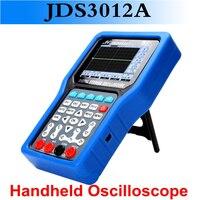 Новые продукты JDS3012A Ручной осциллограф 250 MSa/s цифровой мультиметр осциллограф с одним рукавом частота дискретизации