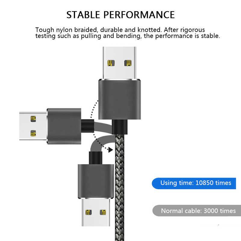 Cable Micro USB magnético RGLM para iPhone Samsung tipo c adaptador de cargador de imán de carga USB tipo C Cables de teléfono móvil