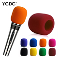 + Cheap Sale+Free Shipping + Handheld Microphone Mic Grill Windshield Wind Shield Sponge Foam Cover Blue