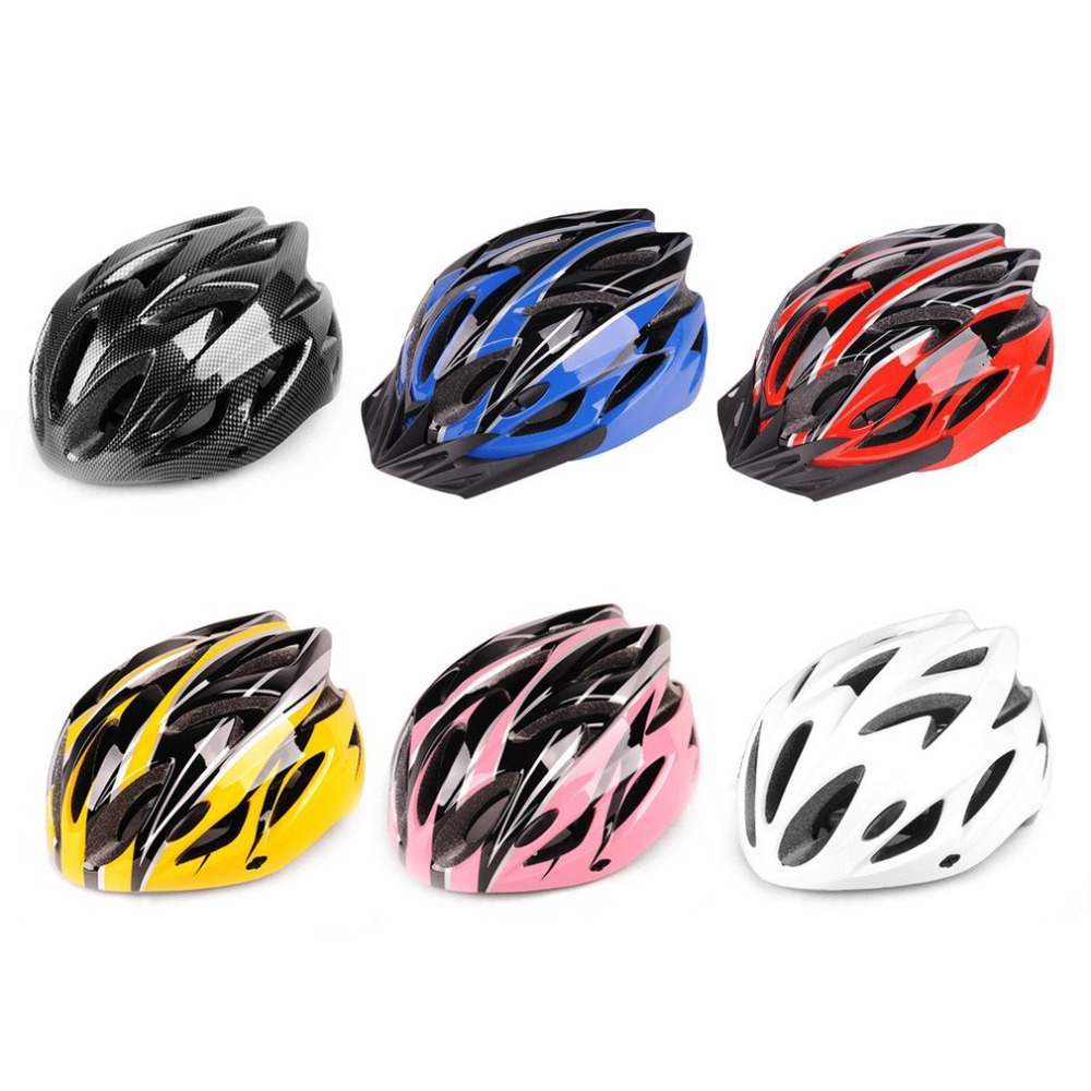 Bike Bicycle Riding Protective Helmet Adjustable Safety Head Protect Integrated Molding Impact Resistance Sports Equipment light