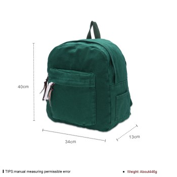 O9014 Gas High Quality Women Backpack Candy Color Waterproof Backpack School Bags #3