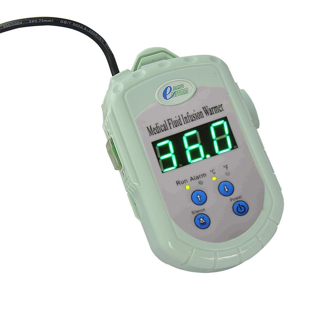 Fluido de sangue CE infusion warmer warmer frete grátis display LED temperatura do líquido a partir de 28 a 41 graus centígrados aquecedor portátil