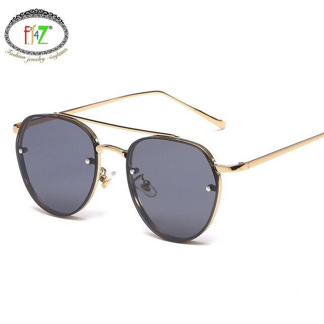 67287abe29 F.J4Z Korean Cool Fresh Style Female Sunglasses For Driving Hot Fashion  Comfort Color Lens