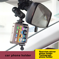 Enhanced Edition telefone do carro Universal montar titular para titular suporte do telefone espelho retrovisor para o Tacógrafo GPS câmeras Digitais