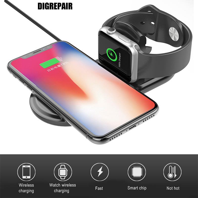 Wireless Charger For iPhone X XR XS MAX QI Wireless