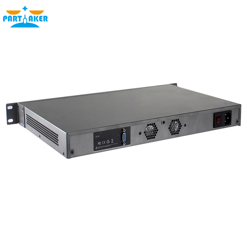 Intel 2117u 8 Lan Ports Hardware Appliance With 2 SFP Ports FAN PFS 2G RAM 8G SSD PARTAKER R7
