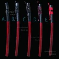 Sword Wooden Sheath For Japanese Katana SAYA Scabbard With Real Black Buffalo Horn Wrapped Cane & Cord(Sageo) 76cm