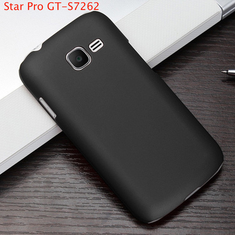 best service a829d f97a3 For Samsung Star Pro GT-S7262 Case Forsted Matte Hard PC Cover For ...