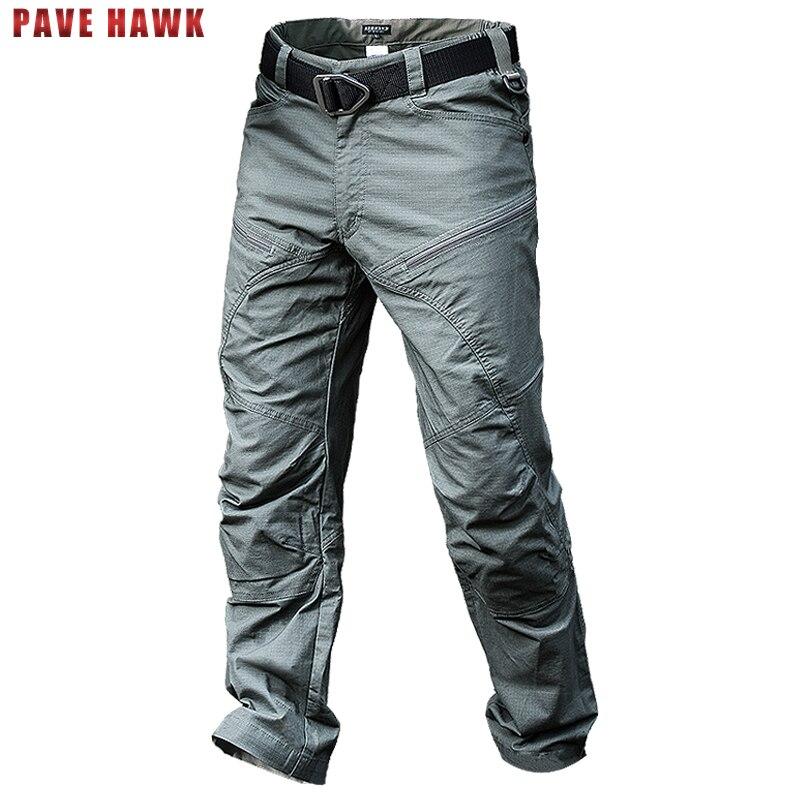 Stalker Randonnée Pantalon Hommes Coton Sports de Plein Air Pêche Chasse Trekking Pantalon Étanche Cargo Armée Militaire Tactique Pantalon