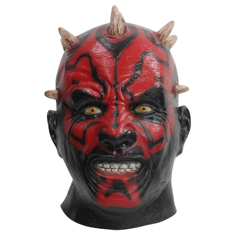 Latex Darth Maul Mask Star Wars Costume Halloween Mask Party Mask Cosplay