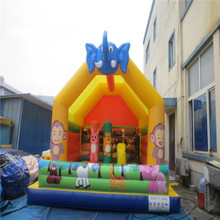 high quality inflatable font b bouncer b font castle kids inflatable toys with CE UL blower