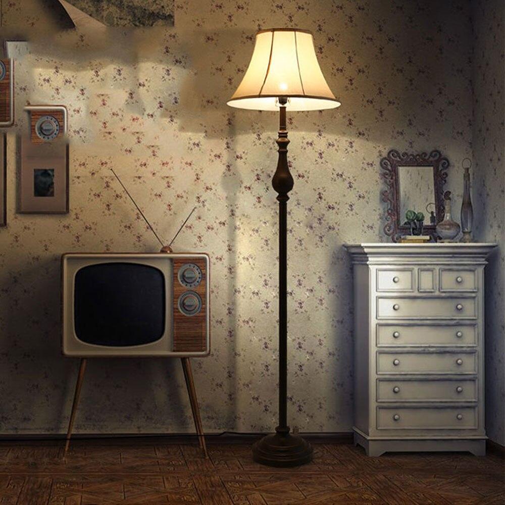 New Floor Lamps Vintage Luxurious Bedroom Design Led Bulb Lamp E27 110V 220V Modern