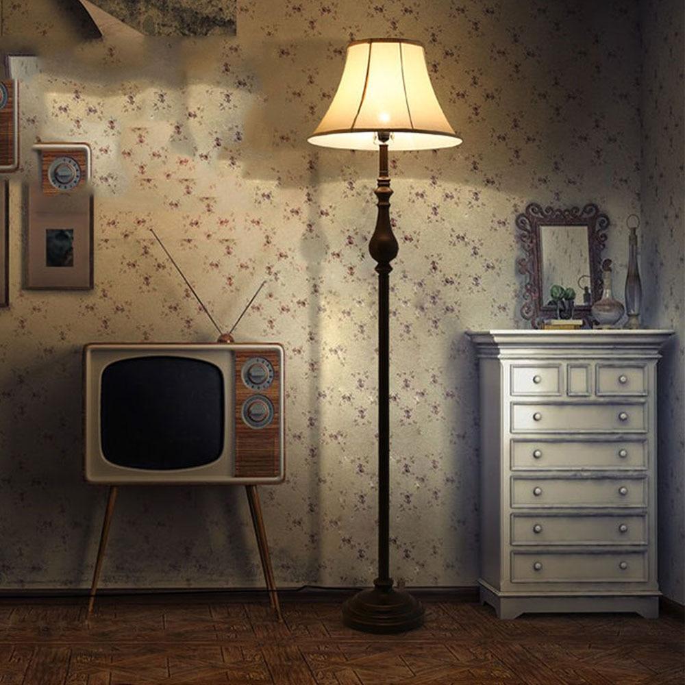 US $175.5 25% di SCONTO|Nuove Lampade da Terra Vintage di Lusso Design  Camera Da Letto Ha Condotto La Lampada Della Lampadina E27 110 v 220 v  Lampada ...