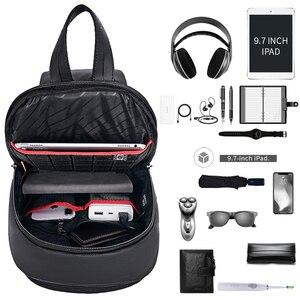 "Image 3 - Арктический Хантер мужская сумка с ремнем через плечо сумка Водонепроницаемый USB сумки через плечо для мужчин в стиле кэжуал Стиль Путешествия сумка нагрудная сумка подходит 9,7 ""iPad"