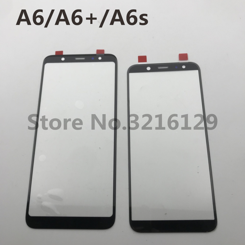 New Original For Samsung Galaxy A6 2018 A600 A6+A605 A6s Front Glass Touch Screen Outer Panel Lens Repair Replacement Part