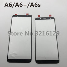 Nieuwe Originele Voor Samsung Galaxy A6 2018 A600 A6 + A605 A6s Voor Glas Touch Screen Outer Panel Lens Reparatie vervanging Deel(China)