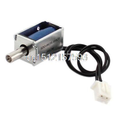 цена на DC 5V 0.71W 19g/2mm Pull Type Electric Magnet Solenoid Electromagnet