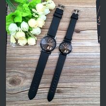 Couple Watches Student Couple Stylish Spire Glass Belt Quartz Watch Men's Watches Women's Watches