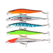 5Pcs/Lot Fishing Lures 120mm 12g Minnow Artificial Baits Wobblers Fishing Tacles Wobblers Hard Lure Fly Fishing Bait For Fishing