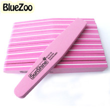 BlueZoo 10pcs Nail File Diamond Fancy Nail Files Buffer Sanding Washable Nail Manicure Tool Double Side Fancy Accessories