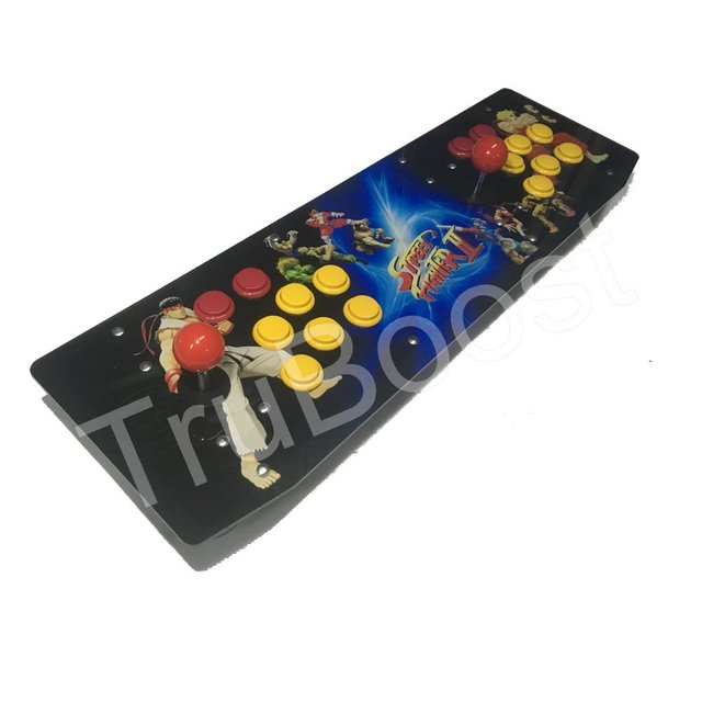 Two Players Raspberry Pi B+ Arcade Game Retro Console Acrylic Artwork Panel All In One