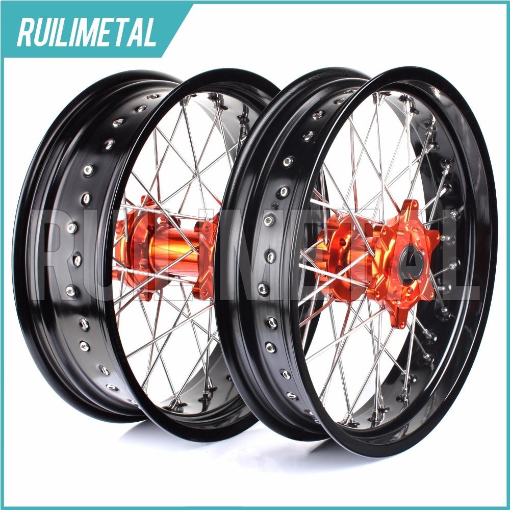 17 supermoto колеса