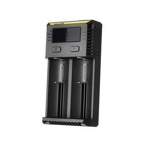 Image 3 - Nitecore cargador de batería inteligente i2, Cargador Universal rápido para baterías AA AAA Li ion 26650 18650 14500