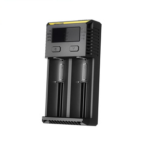 Image 3 - Nitecore original novo i2 intelli carregador de bateria universal rápido para aa aaa li ion 26650 18650 14500 baterias de carregamento