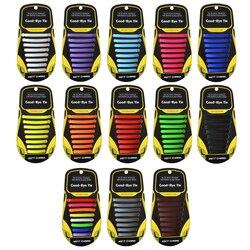300 paquetes de zapatos de cordones para hombre y mujer zapatos de cordones de goma zapatos especiales de cordones de silicona sin corbata con colores aleatorios