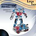 Hierro Comandante Groot Reunidos Deform Robot Car Model Blokcs Construcción Juguetes Educativos para Niños Bloques de Montaje conjunto de Metal Regalos