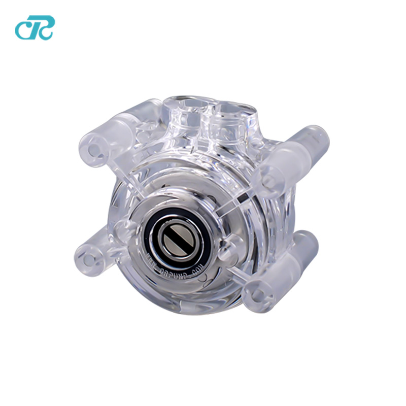 Free shipping small size transparent peristaltic pump headFree shipping small size transparent peristaltic pump head