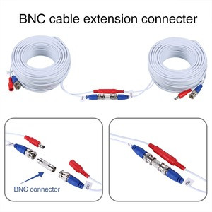 Image 2 - MOVOLS 4PC 30m 100ft CCTV Cable BNC & DC Plug Video Power Cable for Wired AHD Camera DVR Video Surveillance System Accessories