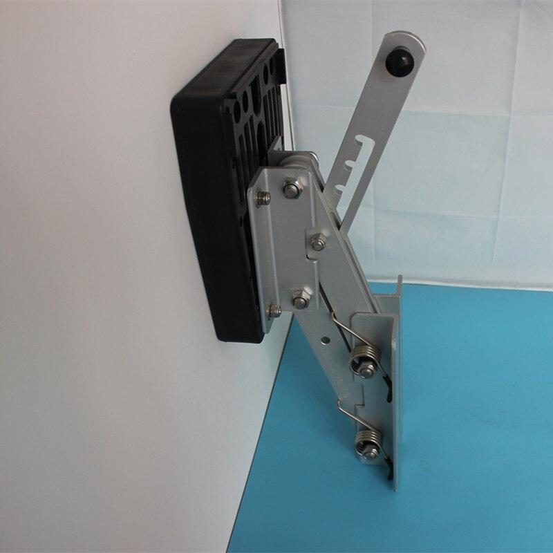 цена на Heavy Duty Aluminum Outboard2 Stroke Kicker Motor Bracket 7.5hp-20hp