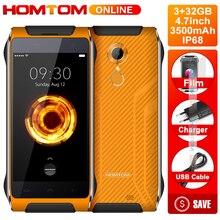 Дешевые Оригинальный HOMTOM HT20 PRO IP68 Водонепроницаемый смартфон MTK6753 Восьмиядерный 8.0MP 4,7 дюймов 3g Оперативная память 32 г Встроенная память 4 г отпечатков пальцев ID FDD-LTE