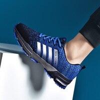 Couple chaussures de course respirant en plein air mâle chaussures de sport baskets légères femmes confortable chaussures d'entraînement athlétique