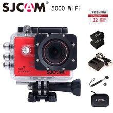 Original SJCAM SJ5000 WIFI cámara de la Acción Del Deporte Impermeable Cámara Novatek 96655 1080 P Full HD Cámara DV gopro estilo