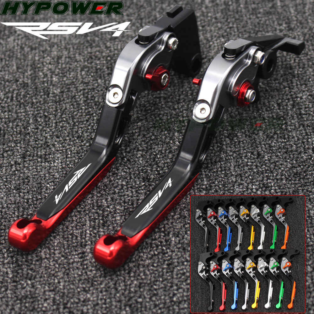 For Aprilia RSV4/RSV4 FACTORY 2009 2010 2011 2012-2014 2015 2016 2017 2018 CNC Adjustable Folding Motorcycle Brake Clutch Levers