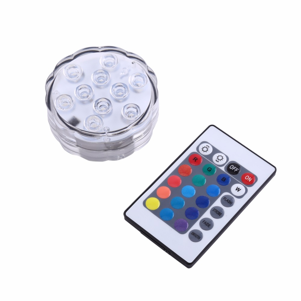 Aquarium Controller 10 Steps With Pictures: 10pcs LED Aquarium Light With Remote Controller Colorful