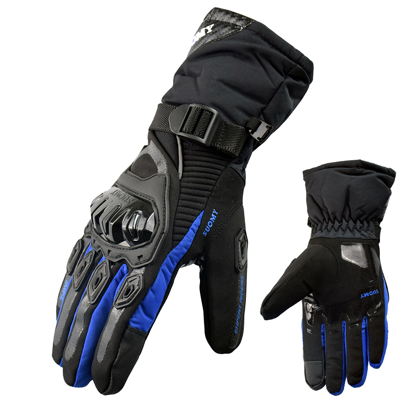 Hot Winter Outdoor Motorcycle Gloves Motorcross Street Off Rod Bike Gloves Touch Screen Waterproof Windproof guantes moto