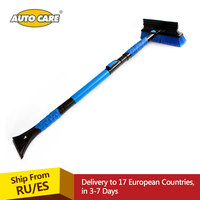 Retractable Handle Snow Shovel Snow Brush Car Cleaning Winter Car Auto Ice Scraper Car SUV Truck