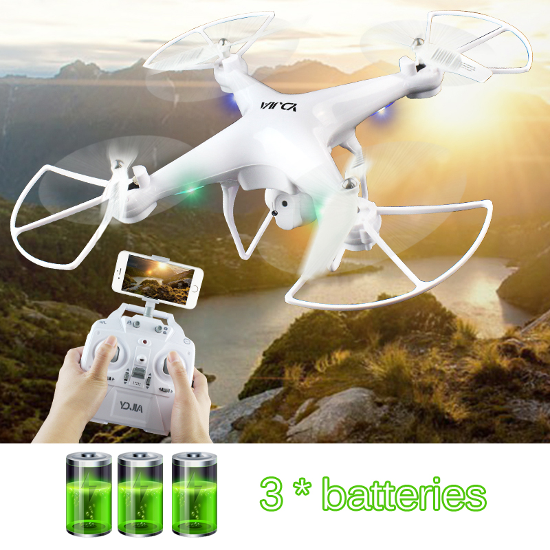 RC WIFI FPV Quadcopter drone with camera hd 6-Axis Remote Control Helicopter Toys Headless Mode Dron VS X5C X5HW H68