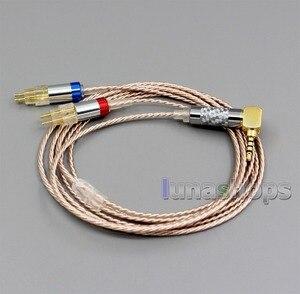 Image 3 - LN006375 Hi Res Silver Plated XLR 3.5mm 2.5mm 4.4mm Earphone Cable For Sennheiser HD580 HD600 HD650 HDxxx HD660S HD58x HD6xx