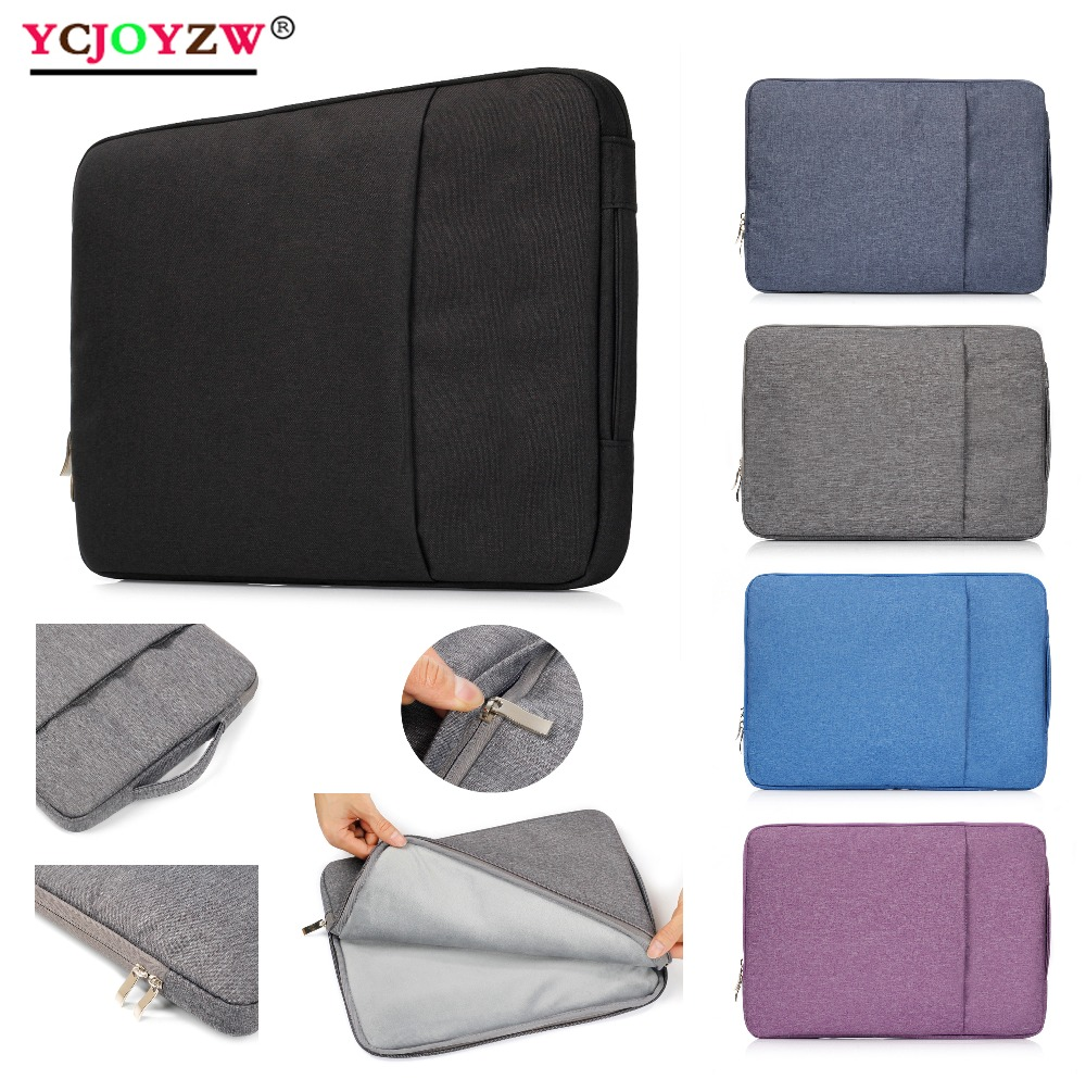 waterproof Denim Sleeve Bag Case For Macbook New 2016 2018 2019 2020 Air 13 Pro Retina 11 12 13 15 16 inch Notebook Laptop Cover|Laptop Bags & Cases| - AliExpress